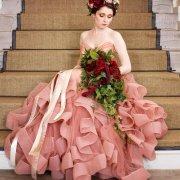 bouquets, bridal bouquet, bridal portrait, flower crowns - Bells & Whistles