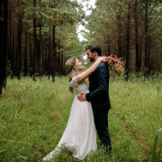 bride and groom, bride and groom - Blackeyed Susan
