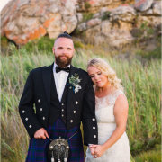 bride and groom, bride and groom, grooms suits, kilts, suits, suits, suits, suits, suits, suits, suits - Bosduifklip
