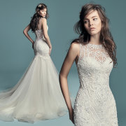 beaded, wedding dresses - Bridal Allure