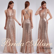 bridesmaids dresses, bridesmaids dresses, gold - Bridal Allure