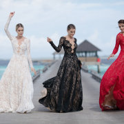 black, lace, wedding dresses - Bridal Allure