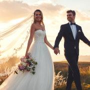 bouquets, suits, veil, wedding dresses, wedding dresses - Bride&co