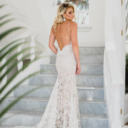 lace, lace, open back, wedding dresses, wedding dresses - Calegra Bridal House