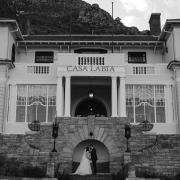 bride and groom, bride and groom, kiss, kiss, kiss, wedding venues - Casa Labia