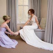 bride and bridesmaids - Cindy Bam