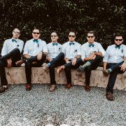groom and groomsmen - Conway Photography