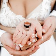 wedding rings - Conway Photography