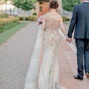 bride, dress, lace - De Hoek Country Hotel