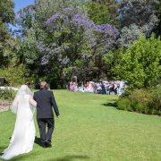 outdoor ceremony - Diemersfontein Wine & Country Estate