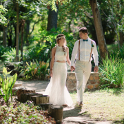 bride and groom, bride and groom, lace, lace, wedding dresses, wedding dresses - Diemersfontein Wine & Country Estate