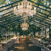 chandelier, wedding decor - Die Woud