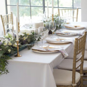 greenery, table decor - Drosberg Wedding Venue