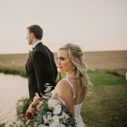 bouquets, bride and groom, bride and groom - Eensgezind