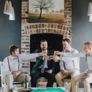 groom, groomsmen - Florence Guest Farm