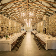 long table, winter wedding special - Florence Guest Farm