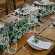 greenery, table settings - Food Fanatics & The Homestead