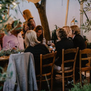 outdoor reception - Food Fanatics & The Homestead
