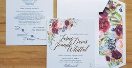Fuchsia Wedding Stationery