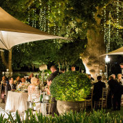 fairy lights, reception - Grande Provence