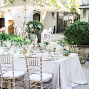 table decor, chairs - Grande Provence
