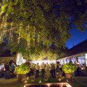 fairy lights, venue - Grande Provence