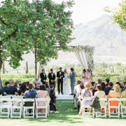 ceremony, chairs, gazebo - Grande Provence