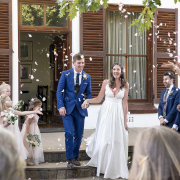 bride and groom, bride and groom, confetti - Kaitlyn De Villiers Photography