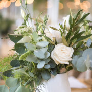 floral centrepieces - Kaitlyn De Villiers Photography