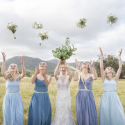 bride and bridesmaids, bridesmaids dresses, bridesmaids dresses - Kaitlyn De Villiers Photography