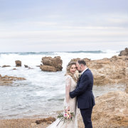 beach, bride and groom, bride and groom - Kaitlyn De Villiers Photography