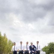 groom and groomsmen - Kaitlyn De Villiers Photography