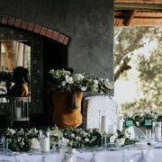 floral decor - Khaya Ndlovu Manor House