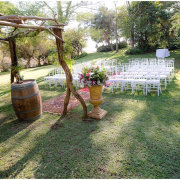 outside ceremony - Khaya Ndlovu Manor House