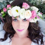 flower crown - Minke Du Plessis Hair & Makeup