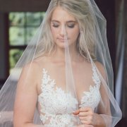 veil, wedding dresses - Minke Du Plessis Hair & Makeup