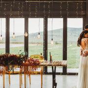 fairy lights, lighting, naked bulbs, overberg wedding venue - Murasie