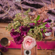 floral centrepieces - My Pretty Vintage