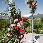 floral arches, floral decor - My Pretty Vintage