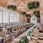 hanging decor, hanging greenery - Nicolette Weddings