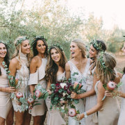bride and bridesmaids - Oh So Pretty Planning