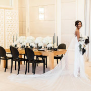 bride, flowers - One&Only Cape Town