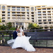 bride, groom, kiss - One&Only Cape Town