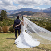 veil, wedding dresses, wedding dresses - Roca on Dieu Donne Wine Estate