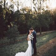 bride and groom, bride and groom, bride and groom, kiss, kiss, kiss - Rosemary Hill