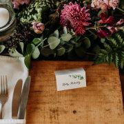 table settings - Rosemary Hill
