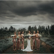 bride and bridesmaids - Rosemary Hill