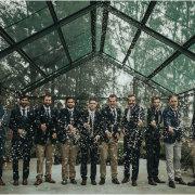 groom and groomsmen - Rosemary Hill