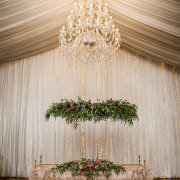 chandelier, wedding decor - Running Waters