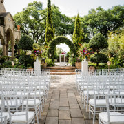 outdoor ceremony, winter wedding special - Shepstone Gardens and The Great Hall
